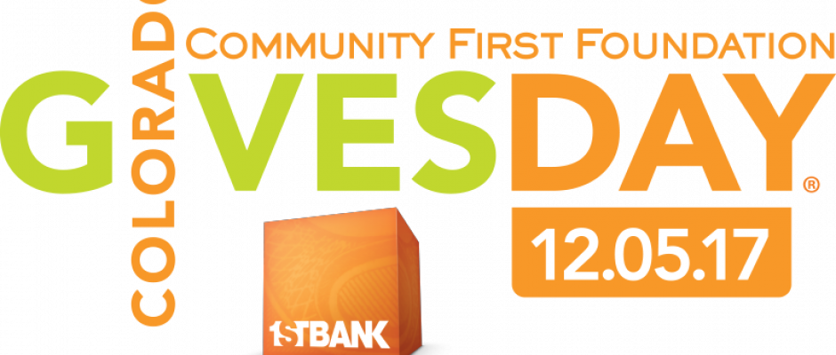 Colorado Gives Day is coming!