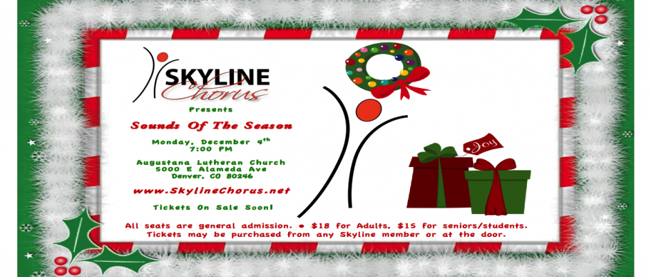 Skyline's Holiday Show Coming Soon!